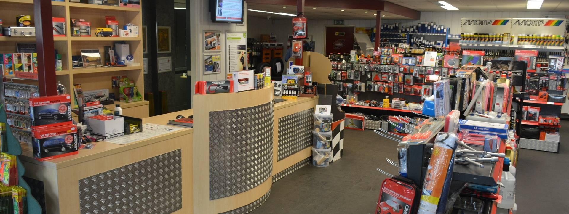 Autoshop Wildeboer Beilen, werkplaats, winkel en AutoStyle dealer.